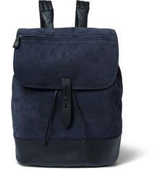 Tomas MaierSuede Backpack