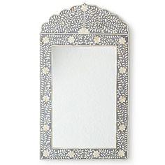 Serena & Lily Grey Damascus Inlay Mirror = love it!!!