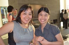Silicon Valley Bank's Regina Chien with @SQLVision's Yun Kuang #WIMdemo