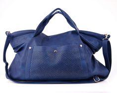 Granatowa torebka damska VERA 06 BLUE - Vera-Bags - Torby na ramię