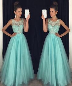 Beautiful Prom Dress, mint green prom dresses backless evening gowns sexy formal dresses beaded prom dresses 2018 fashion evening gown open backs evening dress Meet Dresses Backless Evening Gowns, Backless Prom Dresses, A Line Prom Dresses, Tulle Prom Dress, Homecoming Dresses, Bridesmaid Dress, Evening Dresses, Dress Party, Dresses Dresses