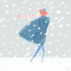 Discover & share this Libby VanderPloeg GIF with everyone you know. GIPHY is how you search, share, discover, and create GIFs. Snow Day Gif, Winter Illustration, Illustration Art, Illustrations, Snow Blizzard, Winter Images, Anime Art Girl, Stay Warm, Happy Friday