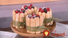 Gesine Bullock-Paardo - Mini Berry Ladyfinger Tarts - The Talk show Gesine Bullock, Lady Fingers, Food Festival, Sweet Desserts, Berries, Cake, Sweet Tooth, Kuchen, Bury