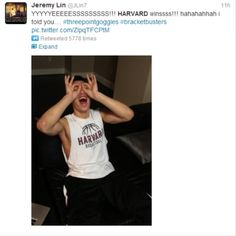 Jeremy Lin Pleased with Harvard's March Madness Upse