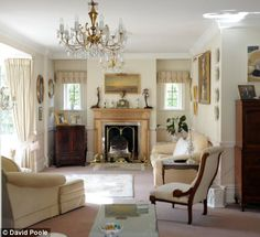 Image detail for -Value: The six-bedroom Edwardian house features a bright sitting room