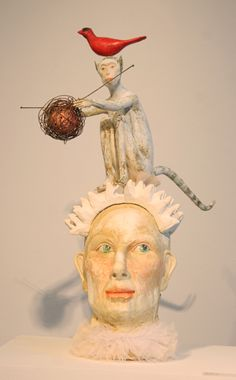 Clay Sculpture by Liza Claque