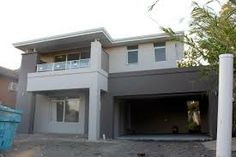 grey rendered house - Google Search