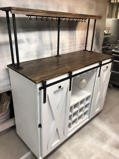 80 latest diy coffee station ideas in your home 52 Decor, Furniture, Bar Furniture, Coffee Bar Home, Bar Cart Decor, Iron Shelf, Home Decor, Bars For Home, Diy Coffee Bar