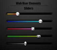 Урок Illustrator - Как создать слайдеры для пользовательского веб интерфейса - Уроки - RU.Vectorboom