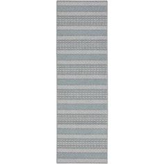 "Mohawk Home Seton Stripe Tufted Nylon Runner Rug, 1'9"" x 5'"