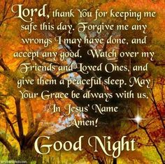 good night BIBLE VERSES quotes with images - Google Search