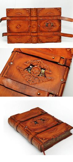 GothicSteampunk  leather journal  Capitain Nemo's by dragosh