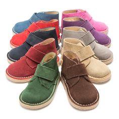 Botas Safari con Velcro en 10 colores. #desertboots #bottessafari #botassafari #pisacacas #carapijos