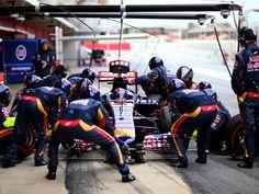 BARCELONA TEST 02 - DAY 3 & 4 | Scuderia Toro Rosso
