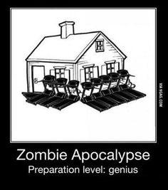 วิธีป้องกันซอมบี้บุกบ้าน