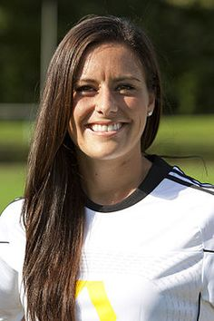 Ali Krieger- those Krieger genes are ridiculous