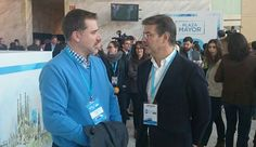 Con Rafael Catalá, Ministro de Justicia.