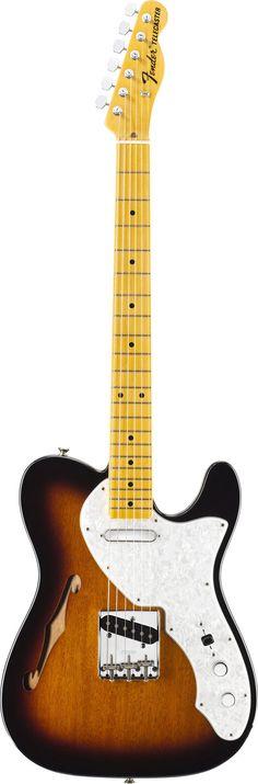 Fender American Vintage 69 Tele Thinline 2 Tone Sunburst
