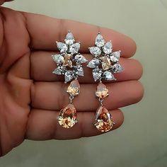 At @graziajewel. Beautiful earrings collection.