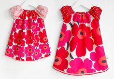marimekko dress for the flower girls! Marimekko Dress, Marimekko Fabric, Kid Outfits, Fashion Outfits, Womens Fashion, Little Girl Dresses, Girls Dresses, Summer Dresses, Afternoon Wedding