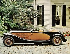 Dual-Cowl Sport Phaeton on a 1933 Lancia Astura Series I chassis made by Castagna for Doris Duke