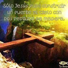 Sólo Jesús fue capaz! facebook.com/jesusteamamgaministries