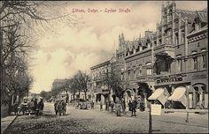 Lötzen (Giżycko),Ostpreußen, Lyckerstraße, D.Jacoby 1916