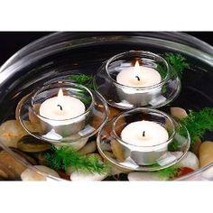$11 Floating Tea Light Candle Holders (1 Dozen)