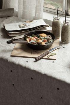 Market Skillet Eggs - Sneh Roy, Photo & Styling
