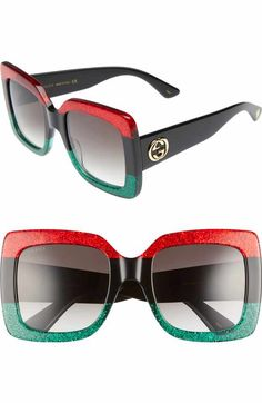85625af16f3 Free shipping and returns on Gucci 51mm Round Sunglasses at Nordstrom.com.  Logo-