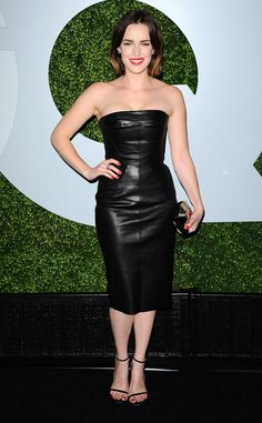 ELIZABETH HENSTRIDGE at 2014 GQ Men of the Year Party in Los Angeles