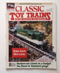 Classic Toy Trains Magazine September 1994 Lionel Vol 7 No 5 American Flyer AMT
