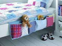 DIY Hanging Bedside Organizer . #diy #crafts