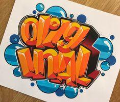 861 отметок «Нравится», 7 комментариев — SpeedOne // SPone (@thespeedone) в Instagram: «Exchange for @kostya_original ! Summer vibe colors! #exchange #sketch #3d #graff #graffiti…»