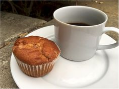 Nlutrisystem Day 1 Breafast  Cinnamon Steusel Muffin and Coffee