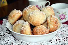 Svatební koláčky - Wedding cookies Cookie Recipes, Dessert Recipes, Desserts, Czech Recipes, Wedding Cookies, Pretzel Bites, Muffin, Rolls, Bread