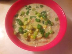 Made the Chicken Bacon Ranch Chowder :-) I eliminated the chicken and bacon because I'm going vegetarian for a couple of weeks! The chowder is delicious and I will definately be making this again!!!