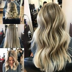 Patience from going brunette to ash blonde.