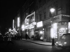 Frith Street in 1958 London Life, Soho, Street Photography, Times Square, History, Places, 1960s, Image, Collection