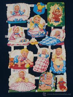 Vintage Birthday Cards, Vintage Cards, Vintage Paper, Vintage Toys, Scrapbook Images, Vintage Scrapbook, Vintage Baby Pictures, Vintage Images, Christmas Decals