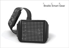 Braille Smart Gear is the latest in the trend of wearable smart devices, but focuses on usability for those with sight impairments.