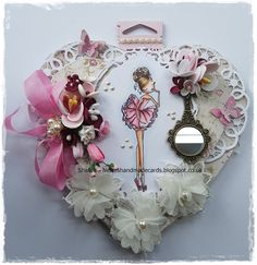 : Looking Gorgeous. Little Darlings, Looking Gorgeous, Diy Wall, I Card, Handmade Cards, Dress Up, Christmas Ornaments, Feelings, Holiday Decor