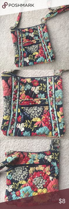 Vera Bradley Cross-Body Purse Purse shows wear but still lots of life in it. Vera Bradley Bags