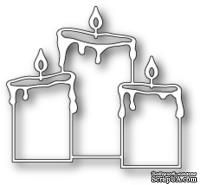 Ножи от Memory Box - DIES- Pillar Candle Trio