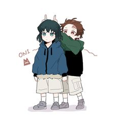 Image about kimetsu no yaiba in anime by Robin Anime Chibi, Manga Anime, Fanarts Anime, Otaku Anime, Kawaii Anime, Anime Guys, Anime Characters, Anime Art, Anime Angel
