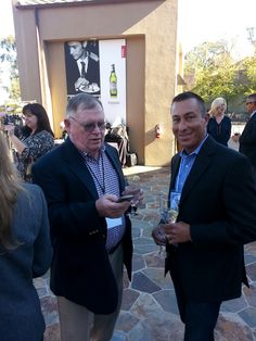 And then it was.... wine time! After the Design 4 Delight session, guests were invited to a reception and gallery walk at Mountain Winery. #IntuitSummit