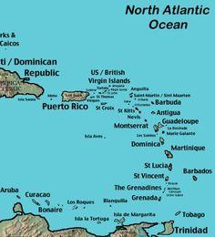 Saint Martin, St. Kitts and St. Thomas