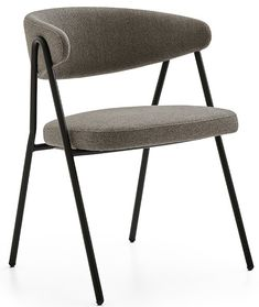 Armless Chair, Folding Chair, Side Chairs, Mid Century, Metal, Wood, Furniture, Home Decor, Decoration Home