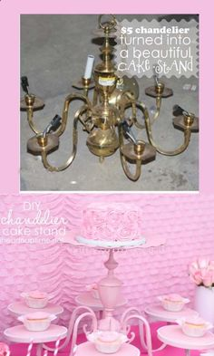 How To Make Cake Stand - or how about jewelry display????