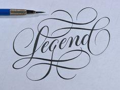 Typeverything.com - Legend Sketch by Ryan Hamrick